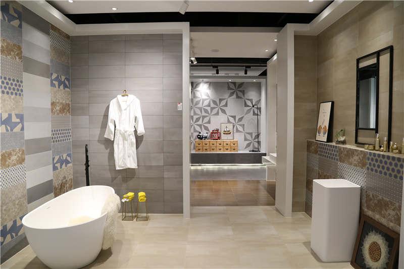 进口瓷砖创意展厅设计