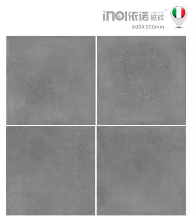 依诺瓷砖新品《马尔凯系列》浅灰色水泥砖,一款低调,!